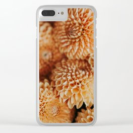 Dahlias Clear iPhone Case