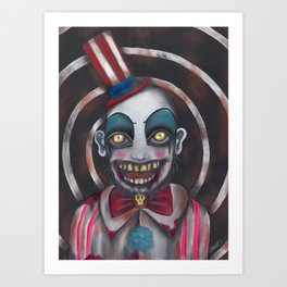 Don't you like Clowns? Art Print