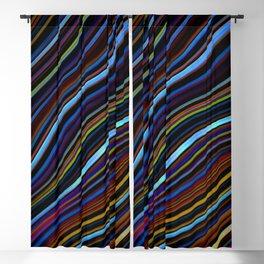 Wild Wavy Lines 45 Blackout Curtain