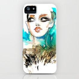 Beauty Portrait 16/2018 iPhone Case