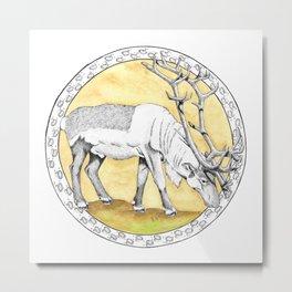 Caribou Metal Print