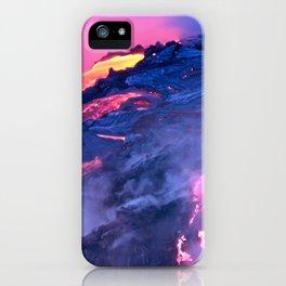 Kilauea Volcano Lava Flow. 4 iPhone Case