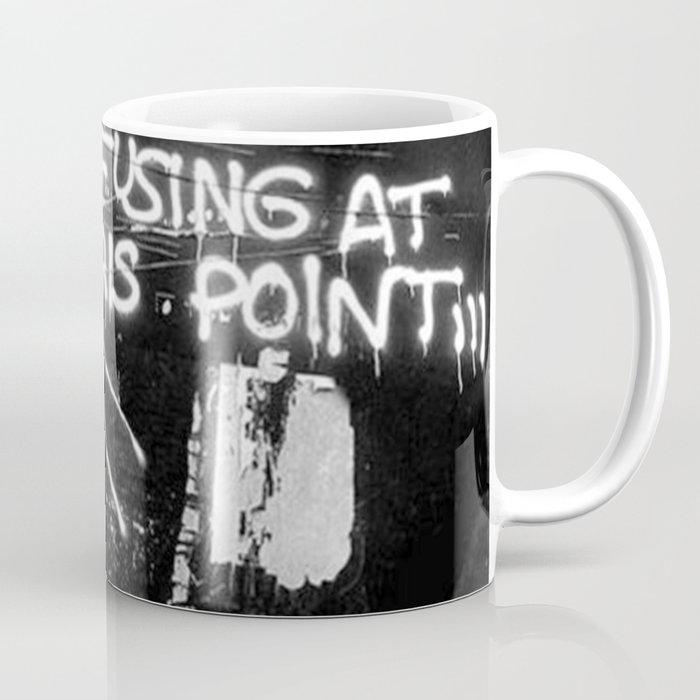 Basquiat Street Art Coffee Mug