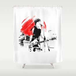 Japanese Artist Shower Curtain