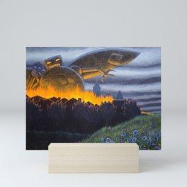 Evil Robot Mini Art Print