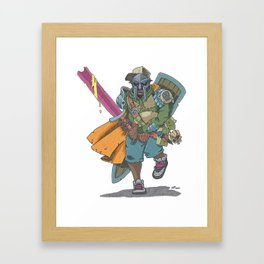 Dungeons & Dragons & DOOM Framed Art Print