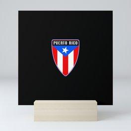 Puerto Rico Shield Mini Art Print