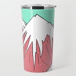 The mountains and the sky Travel Mug