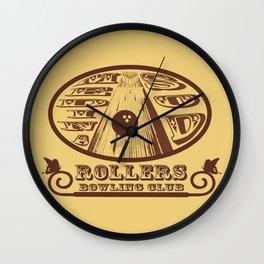 Medina Sod Bowling Club (Big Lebowski) Wall Clock