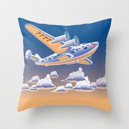 The Yankee Clipper Throw Pillow