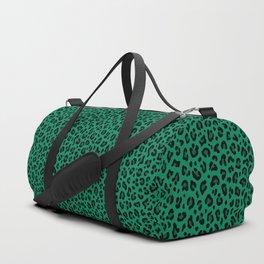 LEOPARD PRINT in GREEN | Collection : Leopard spots – Punk Rock Animal Print Sporttaschen