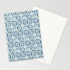 tile pattern IV - Azulejos, Portuguese tiles Stationery Cards