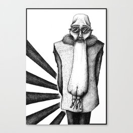 ASS FACE Canvas Print