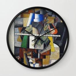 Kazemir Malevich - Portrait Mikhail Matjuschin Anagoria Wall Clock