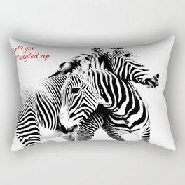 Tangled Up Rectangular Pillow