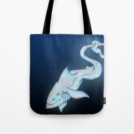 Great White Ghost Tote Bag