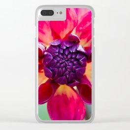 Dahlia / In The Garden / 2 Clear iPhone Case