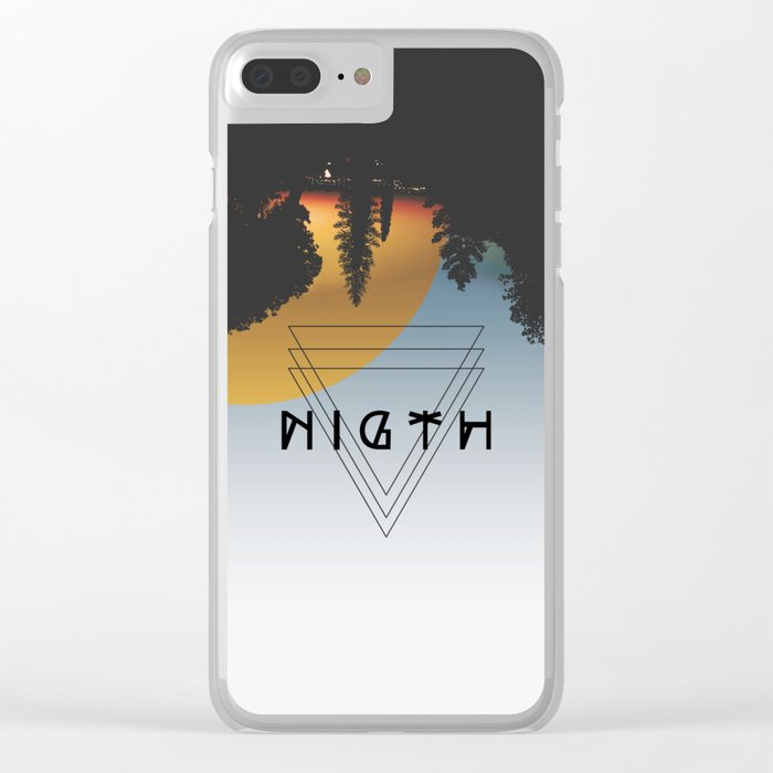 Night lovers Clear iPhone Case