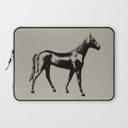 Old Wooden Horse Laptop Sleeve