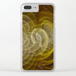 Artist's Impression: Visualisation of Gravitational Waves (2008) Clear iPhone Case