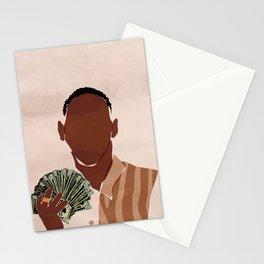 I am a Rich Man Stationery Cards