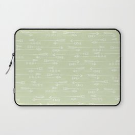 Follow the arrow Laptop Sleeve