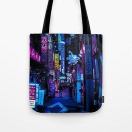 Tokyo Blade Runner Tote Bag