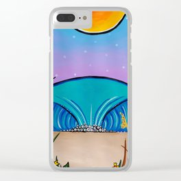 rock the cape Clear iPhone Case