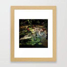 Lady Of The Lake Framed Art Print