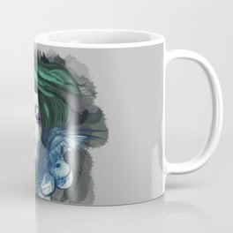 Blue Swan  Coffee Mug
