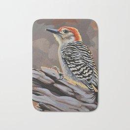 Red-bellied Woodpecker Bath Mat