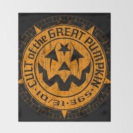 Cult of the Great Pumpkin: Alchemy Logo Throw Blanket