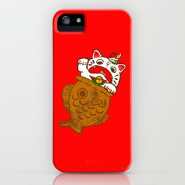 Taiyaki Neko iPhone Case