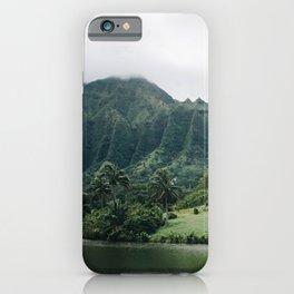 Tropical Mountain - Hawaii iPhone Case