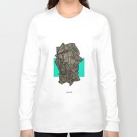 disco Long Sleeve T-shirts featuring - sleeping disco - by Magdalla Del Fresto