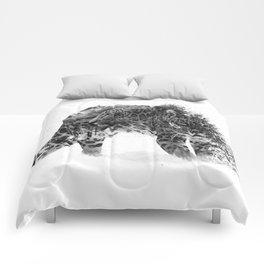Leopard V1 Comforters