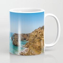 Beach at Lagoa, Algarve, Portugal Coffee Mug