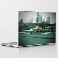 carousel Laptop & iPad Skins featuring Carousel by Danielle Podeszek