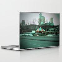 carousel Laptop & iPad Skins featuring Carousel by Danielle Podeszek