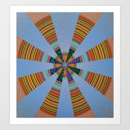 Sacred Sand Mandala Art Print Art Print
