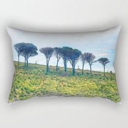 Trapani art 13 Sicily Rectangular Pillow