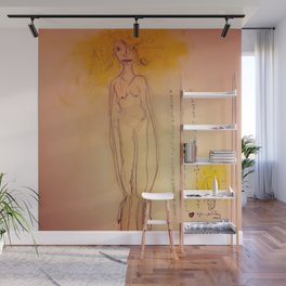 Lucille, The First Human Angel Wall Mural