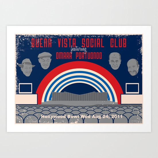 Buena Vista Social Club at the Hollywood Bowl Art Print