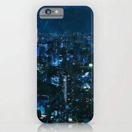 Nightlife in Tokyo iPhone Case