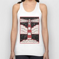 lighthouse Tank Tops featuring Lighthouse by Andy Rogerson