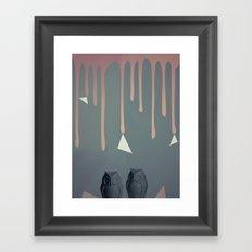 Owl Abstraction Framed Art Print