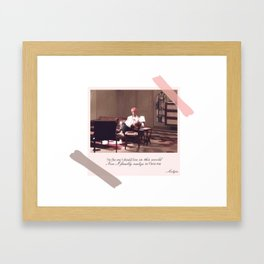 BTS Jin Epiphany Framed Art Print