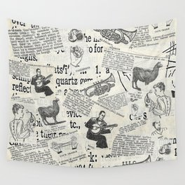 Webster's Dictionary, 1951 Wall Tapestry