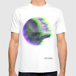 Death Star Glitch Wars T-shirt