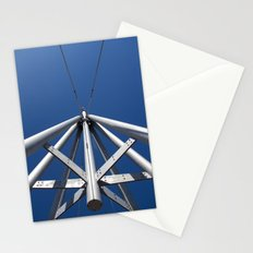 Sky and steel Stationery Cards